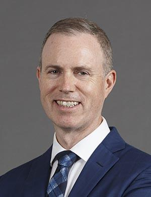 Portrait of Sean Carmody, Executive General Manager Risk and Data Analytics